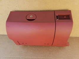 Chrysler Crosssfire Cross Fire Glovebox Glove Box Cubby Storage - RED