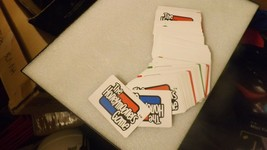 22#H  107 The Honeymooners game cards Ralph Kramden Jackie Gleason Art Carney 86 - $9.89