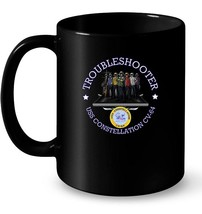 Mens AIRCRAFT CARRIER FLIGHT DECK TROUBLESHOOTER S Gift Coffee Mug - $13.99+