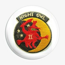 USMC McDonnell Douglas PHANTOM II NIGHT OWL Button Pin - $9.89