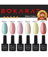 Gel Nail Polish ~Watery Colors~ 7.3 ml Soak Off UV LED ~High Quality~ Bo... - $3.82+