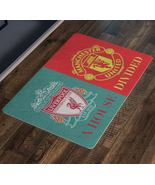 Manchester United Liverpool FC Front Porch Housewarming Welcome Doormat ... - $43.00