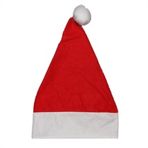 "Northlight 18"" Red and White Felt Christmas Santa Hat - Adult Size Small - €4,99 EUR"