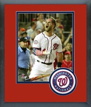Bryce Harper 2018 All-Star Game MLB Home Run Derby Matted/Framed Photo 5 - $42.95