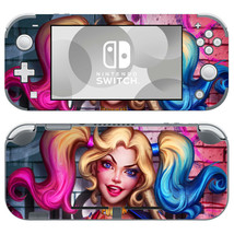 Nintendo Switch Lite Console Skin Decals Stickers DC Comic Suicide Harley Quinn - $9.70