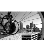 "Columbus, Ohio Bike Print - ""Spokes View"" - $40.00"