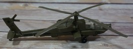 ERTL- DIECAST US ARMY HELICOPTER FORCE ONE HUGES AH-64- GOOD CONDITION - $10.99