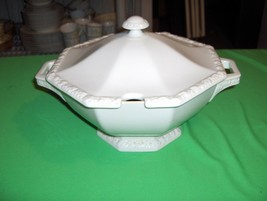Vintage Rosenthal China Large Soup Tureen  Maria White  Classic Rose NICE - $113.85