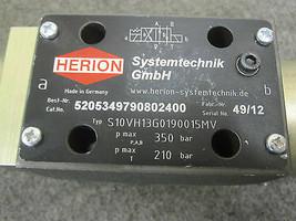 5205349790802400 HERION DIRECTIONAL VALVE S10VH13G0190015MV image 2