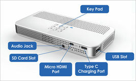 Laser Beam Pro C200 200-Lumen WXGA Pico Projector with Wi-Fi image 5