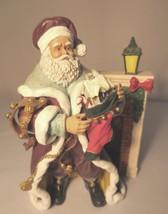 "Thomas Kinkade - ""A Stocking from St Nicholas"" Figurine COA - $25.00"