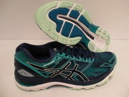 Asics women's gel nimbus 19 insigia blue glacer sea running shoes size 7... - $118.75