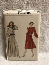 Vogue 7775 Misses Dress Vintage Sewing Pattern - $11.87