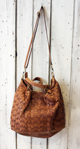 Intreccio 79 handmade woven leather bag  image 7
