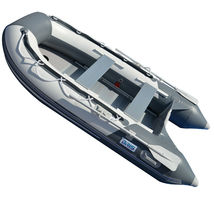BRIS 9.8 ft Inflatable Boat Dinghy 4 Person Pontoon Boat Tender Fishing Raft image 6