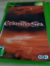 MicroSoft XBox Crimon Sea - COMPLETE image 2