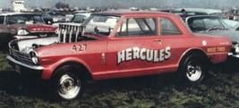 AMT 'Rat Packer' '65 Chevy II A/FX w/FR Jungle Jim 'Hercules' A/FX - $45.00