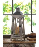 """Large Rustic WATCHTOWER Wooden Candle Lantern 19"""" Tall - $31.99"""