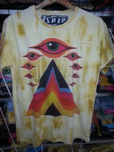 Men T Shirt short sleeve 100 cotton Pyramid Egypt Eye Mystery  M love Sure New - $12.86