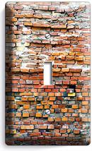 Rustic Brick Stone Morter 1 Gang Light Switch Wall Plates Room Modern Loft Decor - $8.99