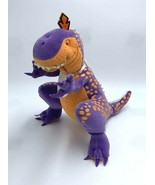 How Do Dinosaurs Dinos Eat Their Food Purple Orange Plush Stuffed Animal - $29.99