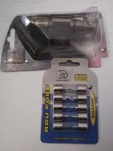 Voodoo AGU inline 4 or 8 gauge Fuse Holder + (5) 60 amp AGU fuses image 2