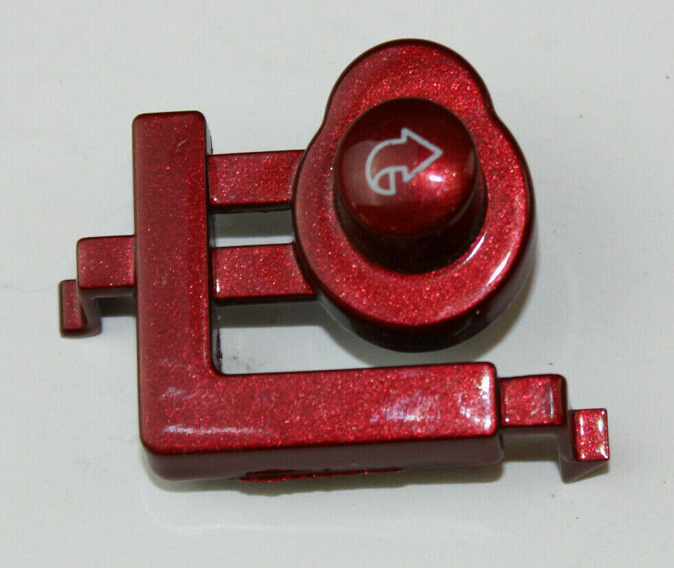 Primary image for General Electric Washer : Back Button : Red (WH01X10420) {P5049}