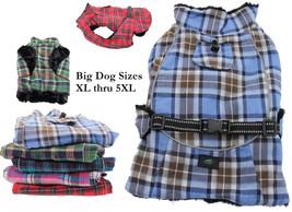 Doggie Design Alpine Cold Weather Flannel Plaid Jacket Vest available in... - $42.98+