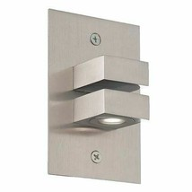 Eurofase up/down light 22531 In-Wall Light with 2W LED, Satin Nickel (NEW)  - $29.99