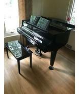 K Kawai GM-1 Baby Grand Piano 1993 Black Ebony with bench - $7,856.09 CAD