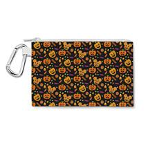Halloween Mickey Pumpkins Disney Inspired Canvas Zip Pouch - $15.99+