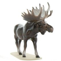 Hagen Renaker Miniature Bull Moose on Base Ceramic Figurine image 9