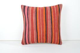 bedroom 16x16 inch bedroom decor kilim pillow handmade pastel pillow 60x... - $50.00
