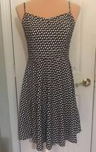 Old Navy Women's Sundress Dress M Black &  White Sweetheart Neckline - €11,36 EUR