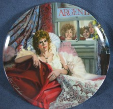 Annie and Miss Hannigan Little Orphan Annie Collector Plate William Cham... - $11.97