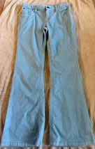 EUC Gap Kids Light Blue Glitter Flare Pants Size 14 Regular - $2.99