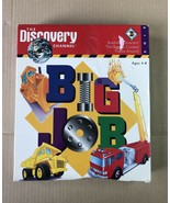 RARE~DISCOVERY CHANNEL CD~BIG JOB~THE BIGGEST COOLEST TRUCKS AROUND~EDUC... - $14.03