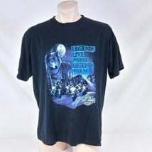 Vintage 1991 Harley Davidson T Shirt Legends Live Tee Biker 90s Single S... - $49.99