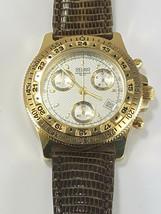 BELAIR men's Swiss Chronograph Watch Gold Plated - $795.00