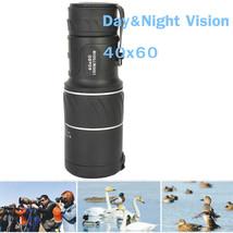 US Day&Night Vision 40x60 HD Optical Monocular Hunting Camping Hiking Te... - $14.99