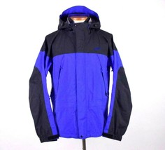 Mountain Equipment Gore Tex Parka Hood Jacket Soft Shell Coat Men L Purp... - $147.50