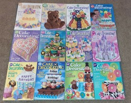 Wilton Cake Decorating Yearbook Lot of 12 - 00 01 03 04 05 06 07 08 09 10 11 13 - $39.00