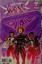 Unstoppable Wasp (2016) Marvel Comic Book #6 G.I.R.L. Whitley/Charretier... - $6.19
