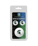 Michigan State Spartans Golf Ball and Ball Markers - $11.40
