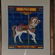 Old Lakewood Carousel Horse Cross Stitch Pattern Illions Outside Row Sta... - $7.99