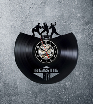 Beastie boys clock wall clock vinyl clock beastie boys art wall hanging ... - $45.00