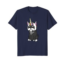 Schnauzer Unicorn T-Shirt Funny Dog Gift Shirt - $17.99+