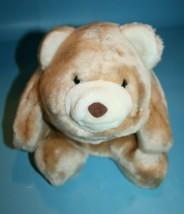 "GUND Beige SNUFFLES Bear 14"" Plush Stuffed Animal Flat Pillow Style Vtg ... - $91.90"