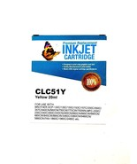 Premium Replacement Inkjet Cartridge Yellow 20ml CLC51Y for Brother Prin... - $14.95