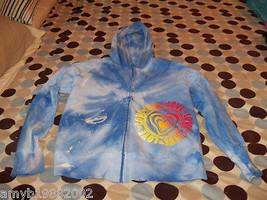 The Children's Place Blue Tie Dye Zip Up Jacket 10/12 Girl's EUC - $14.04